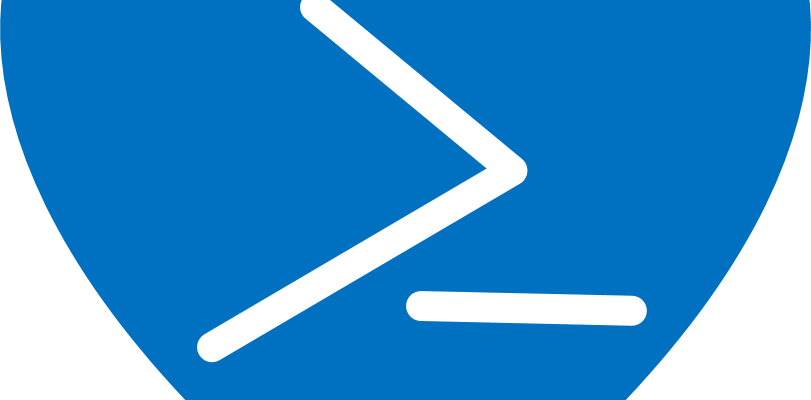 PowerShell logo in a heart