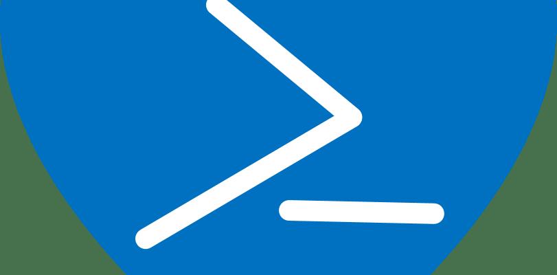 PowerShell logo in a heart